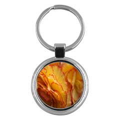Flowers Leaves Leaf Floral Summer Key Chains (round)  by Nexatart