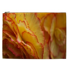 Flowers Leaves Leaf Floral Summer Cosmetic Bag (xxl)