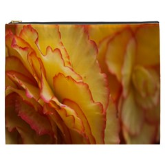 Flowers Leaves Leaf Floral Summer Cosmetic Bag (xxxl)