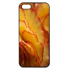 Flowers Leaves Leaf Floral Summer Apple Iphone 5 Seamless Case (black)