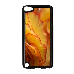 Flowers Leaves Leaf Floral Summer Apple Ipod Touch 5 Case (black) by Nexatart