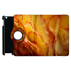 Flowers Leaves Leaf Floral Summer Apple Ipad 3/4 Flip 360 Case