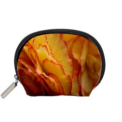 Flowers Leaves Leaf Floral Summer Accessory Pouches (small)