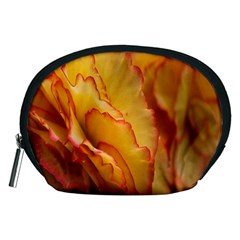Flowers Leaves Leaf Floral Summer Accessory Pouches (medium)