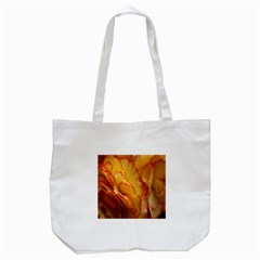 Flowers Leaves Leaf Floral Summer Tote Bag (white)