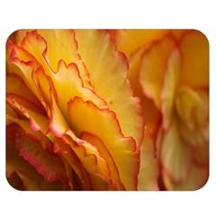 Flowers Leaves Leaf Floral Summer Double Sided Flano Blanket (medium)