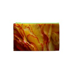 Flowers Leaves Leaf Floral Summer Cosmetic Bag (xs) by Nexatart