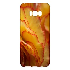 Flowers Leaves Leaf Floral Summer Samsung Galaxy S8 Plus Hardshell Case  by Nexatart