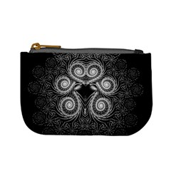 Fractal Filigree Lace Vintage Mini Coin Purses