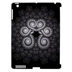 Fractal Filigree Lace Vintage Apple Ipad 3/4 Hardshell Case (compatible With Smart Cover)