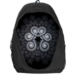 Fractal Filigree Lace Vintage Backpack Bag