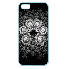 Fractal Filigree Lace Vintage Apple Seamless Iphone 5 Case (color)