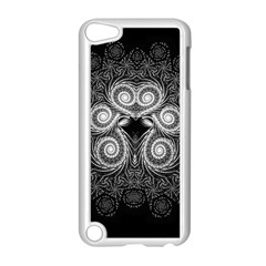 Fractal Filigree Lace Vintage Apple Ipod Touch 5 Case (white)