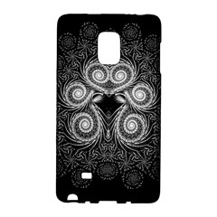 Fractal Filigree Lace Vintage Galaxy Note Edge