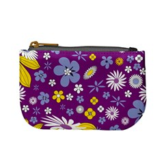 Floral Flowers Mini Coin Purses