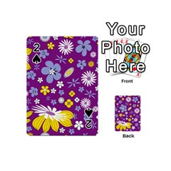 Floral Flowers Playing Cards 54 (mini)