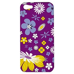 Floral Flowers Apple Iphone 5 Hardshell Case