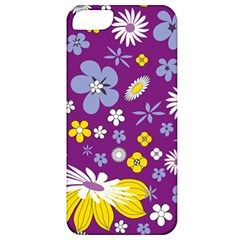 Floral Flowers Apple Iphone 5 Classic Hardshell Case