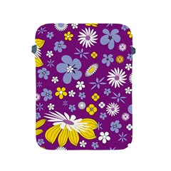Floral Flowers Apple Ipad 2/3/4 Protective Soft Cases
