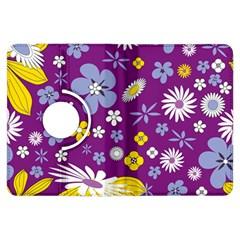 Floral Flowers Kindle Fire Hdx Flip 360 Case