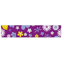Floral Flowers Small Flano Scarf