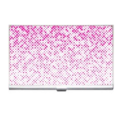 Halftone Dot Background Pattern Business Card Holders by Nexatart