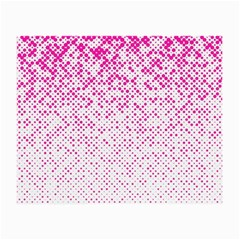 Halftone Dot Background Pattern Small Glasses Cloth