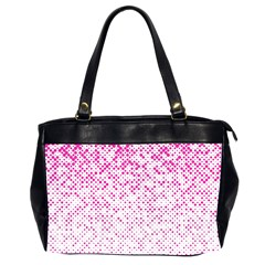 Halftone Dot Background Pattern Office Handbags (2 Sides)
