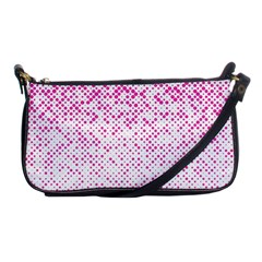 Halftone Dot Background Pattern Shoulder Clutch Bags
