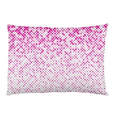 Halftone Dot Background Pattern Pillow Case (two Sides)
