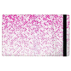 Halftone Dot Background Pattern Apple Ipad 3/4 Flip Case