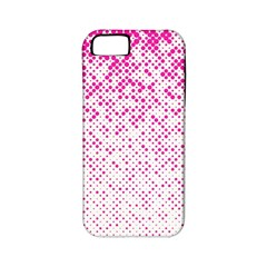 Halftone Dot Background Pattern Apple Iphone 5 Classic Hardshell Case (pc+silicone)