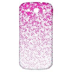 Halftone Dot Background Pattern Samsung Galaxy S3 S Iii Classic Hardshell Back Case