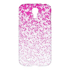 Halftone Dot Background Pattern Samsung Galaxy S4 I9500/i9505 Hardshell Case
