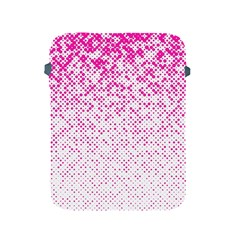 Halftone Dot Background Pattern Apple Ipad 2/3/4 Protective Soft Cases