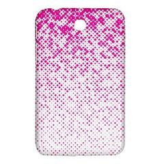Halftone Dot Background Pattern Samsung Galaxy Tab 3 (7 ) P3200 Hardshell Case