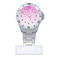 Halftone Dot Background Pattern Plastic Nurses Watch by Nexatart
