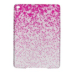 Halftone Dot Background Pattern Ipad Air 2 Hardshell Cases