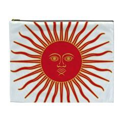 Peru Sun Of May, 1822 1825 Cosmetic Bag (xl) by abbeyz71