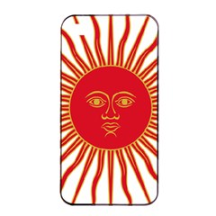 Peru Sun Of May, 1822 1825 Apple Iphone 4/4s Seamless Case (black) by abbeyz71