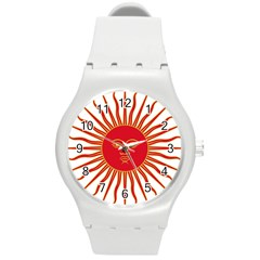 Peru Sun Of May, 1822 1825 Round Plastic Sport Watch (m) by abbeyz71
