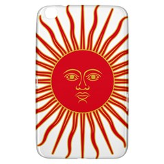 Peru Sun Of May, 1822 1825 Samsung Galaxy Tab 3 (8 ) T3100 Hardshell Case  by abbeyz71