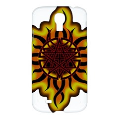 Disturbed Is An American Heavy Metal Band Logo Samsung Galaxy S4 I9500/i9505 Hardshell Case by Sapixe