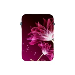 Drawing Flowers Lotus Apple Ipad Mini Protective Soft Cases by Sapixe