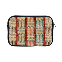 Fabric Pattern Apple Ipad Mini Zipper Cases