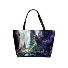 Fantastic World Fantasy Painting Shoulder Handbags by Sapixe