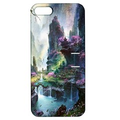 Fantastic World Fantasy Painting Apple Iphone 5 Hardshell Case With Stand by Sapixe