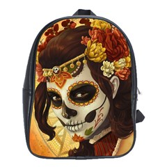 Fantasy Girl Art School Bag (xl) by Sapixe