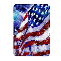 Flag Usa United States Of America Images Independence Day Samsung Galaxy Tab 2 (10 1 ) P5100 Hardshell Case  by Sapixe