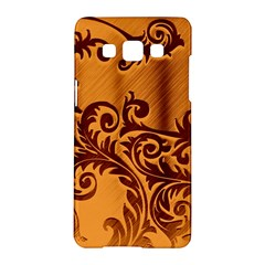 Floral Vintage Samsung Galaxy A5 Hardshell Case  by Sapixe
